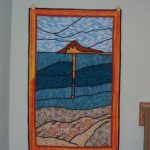 WindMark Beach sunset quilt