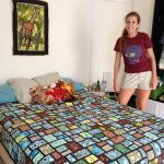 Beautiful bed quilt